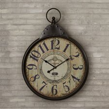 Wilksboro Oversized Fascinating Styled Berlin Metal Wall Clock