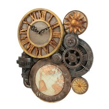 Oakland Sculptural Wall Clock
