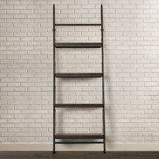 "Yreka 88.5"" Leaning Bookcase"