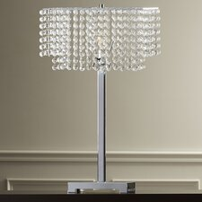 "Marlene 28"" H Table Lamp with Rectangular Shade"
