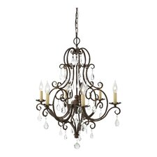 Ramona 6 Light Chandelier