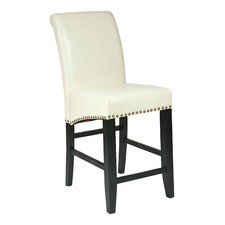 "Olivier 24"" Bar Stool with Cushion"