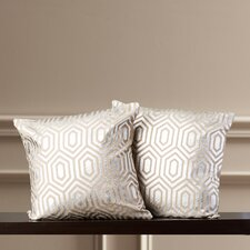 Elspeth Down Throw Pillow (Set of 2)