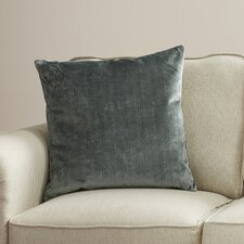 Plain Velvet Throw Pillow