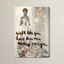 Reading Graphic Art on Wrapped Canvas