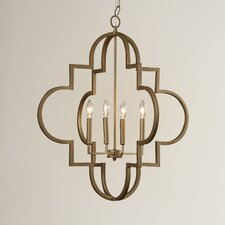 Aldridge 4 Light Pendant