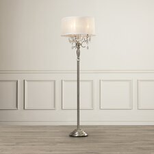 "Celadon Crystal 62"" Floor Lamp"