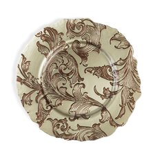"Vanessa 13"" Glass Charger Plate (Set of 40)"