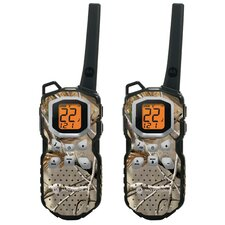 35 Mile Range Waterproof Radio with Accessories (2 Pack)