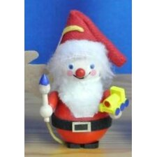 Steinbach Toy Maker Santa with Train German Wooden Christmas Ornament