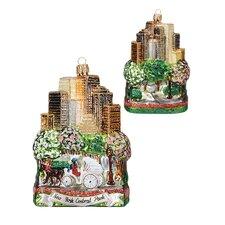 Pinnacle Peak Glass New York City Central Park Christmas Ornament