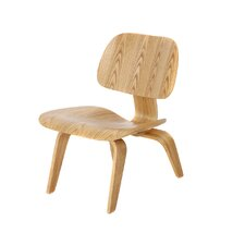 Eames Style Molded Plywood Piston Side Chair