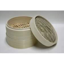 Round Bamboo 8-10 qt. Steamer