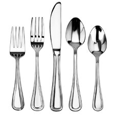 Slimline 60 Piece Stainless Steel Flatware Set