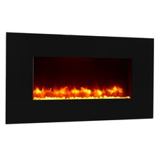 Remote Control Wall Mounted Flat Panel Electric Fireplace
