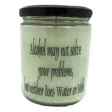 Alcohol May Not Solve Your Problems, But Neither Does Water or Milk Laundry Day Jar