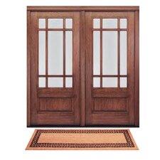 DeCoir Double Door Charleston Border Doormat