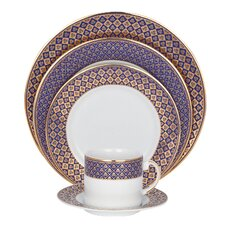 Jublee Fine China 5 Piece Place Setting (Set of 4)