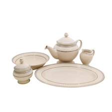 Wik Ivory China Traditional Serving 5 Piece Dinnerware Set