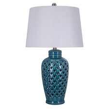 """26"""" H Table Lamp with Drum Shade"""