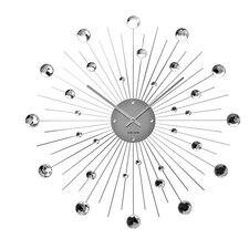 """Karlsson 21"""" Crystal Sunburst Wall Clock"""