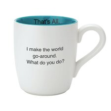 World Go 'Round Mug (Set of 4)