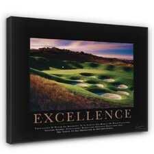 Classic Excellence Golf Motivational Photographic Print