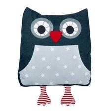 Marta Owl Cotton Throw Pillow