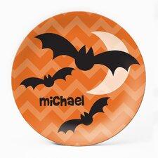 """Batty 10"""" Personalized Plate"""