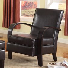 Wonda Bonded Leather Arm Chair