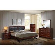 Emily Panel 5 Piece Bedroom Set