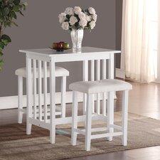 white pub tables bistro sets wayfair. Black Bedroom Furniture Sets. Home Design Ideas