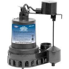 1/2 HP Sump Pump with Vertical Float Switch