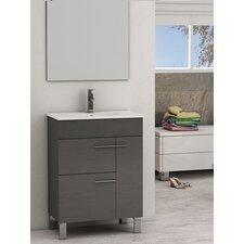 """Cup® 24"""" Single Modern Bathroom Vanity Set"""