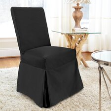 Tara Long Dining Chair Slipcover
