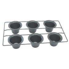 Popover Pan Non-Stick 6 Cup