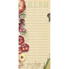 Fresh From The Farm Mini List Pad (Set of 2)