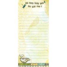 Color My World Mini List Pad