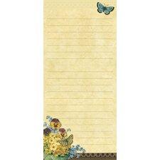 Botanical Blossoms Mini List Pad (Set of 2)