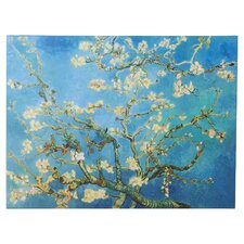 """Almond Blossom"" by Vincent Van Gogh Painting Print on Wrapped Canvas"