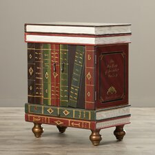 Cloey Wooden End Table
