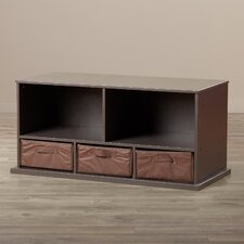 Ever Gabo Wood Storage Bench