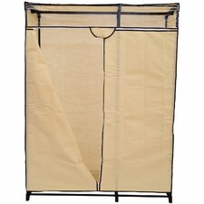 "63"" H x 48"" W x 19.7"" D Portable Wardrobe Clothes Organizer Closet"