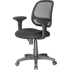 Breezer Mesh Mid-Back Office Chair