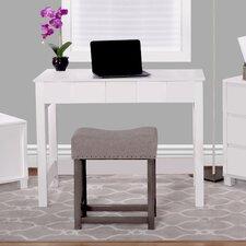 Cork Writing Desk with Flip Up Vanity