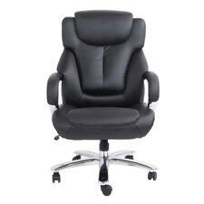 Admiral III Big and Tall High-Back Leather Executive Chair