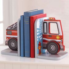 Fire Truck Bookends (Set of 2)