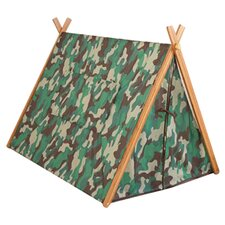 Camo A-Frame Tent