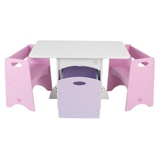Kid's 4 Piece Table & Chair Set