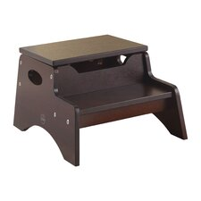 2-Step Manufactured Wood N' Store Step Stool